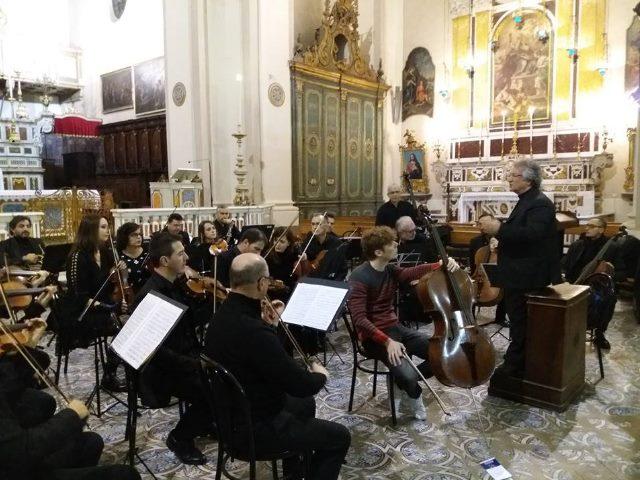 Esibizione dell'Orchestra da Camera di Caserta