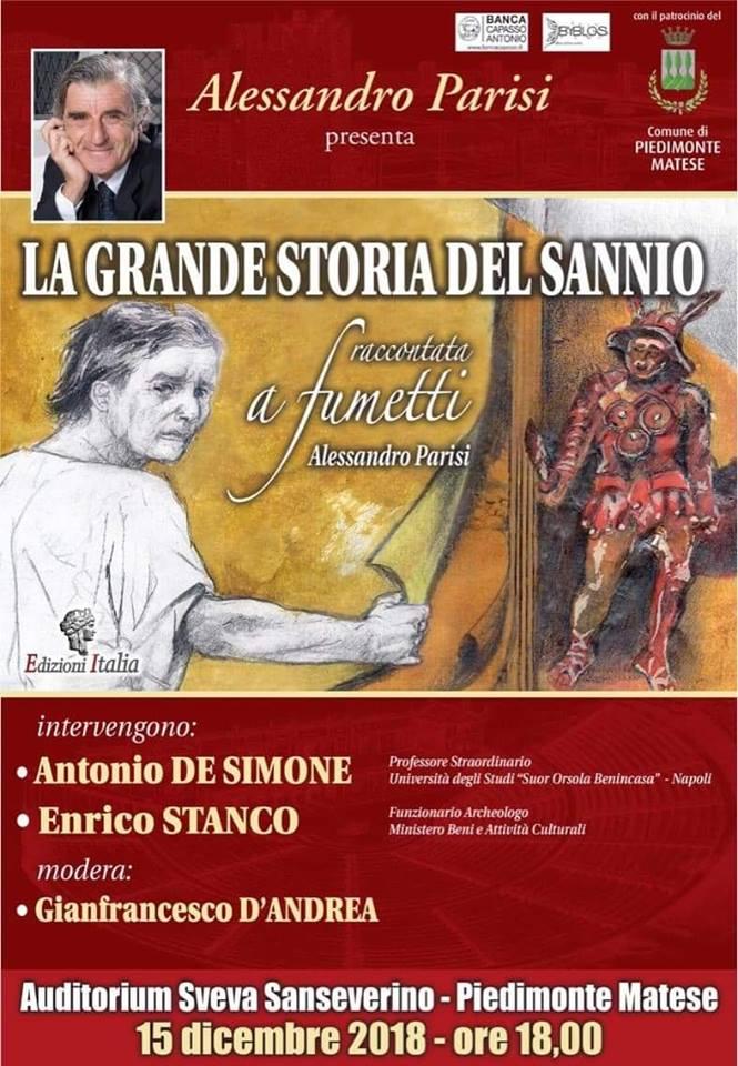 La grande storia del Sannio, locandina